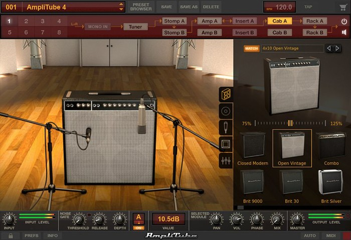 IK Multimedia AmpliTube Custom Shop : Cab Room