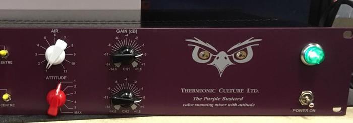 Thermionic Culture The Purple Bustard : Purple Bustard Close