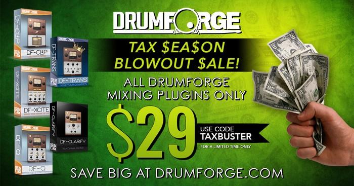 Drumforge Tax Day Sale