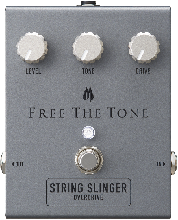 Free The Tone String Slinger Overdrive : front