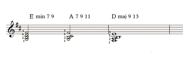 Left hand voicings 2