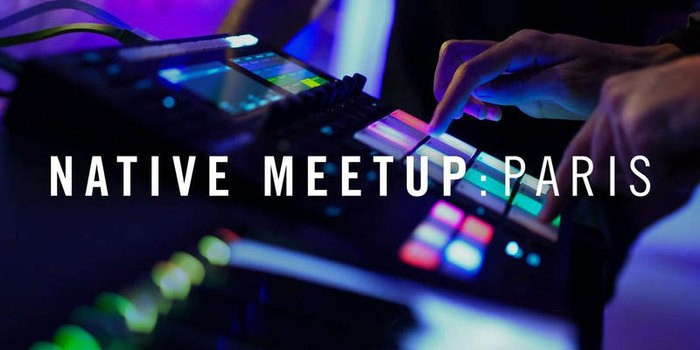 Native Instruments Maschine : Native Meetup