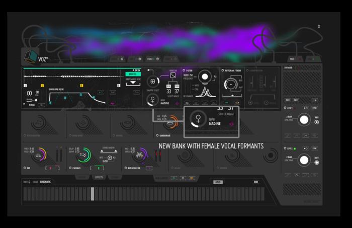Blinksonic° VOZ : Voz newFemBank