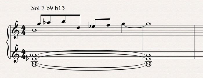 Théorie musicale : 02 exemple phrygien bécarre 3