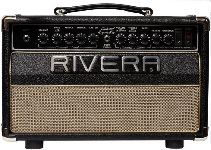 Rivera Clubster Royale Recording 55 : clubryltopfrntweb