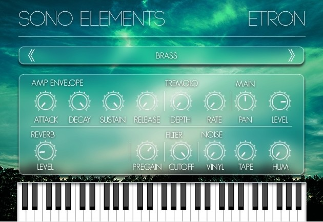 Sono Elements eTron Screenshot