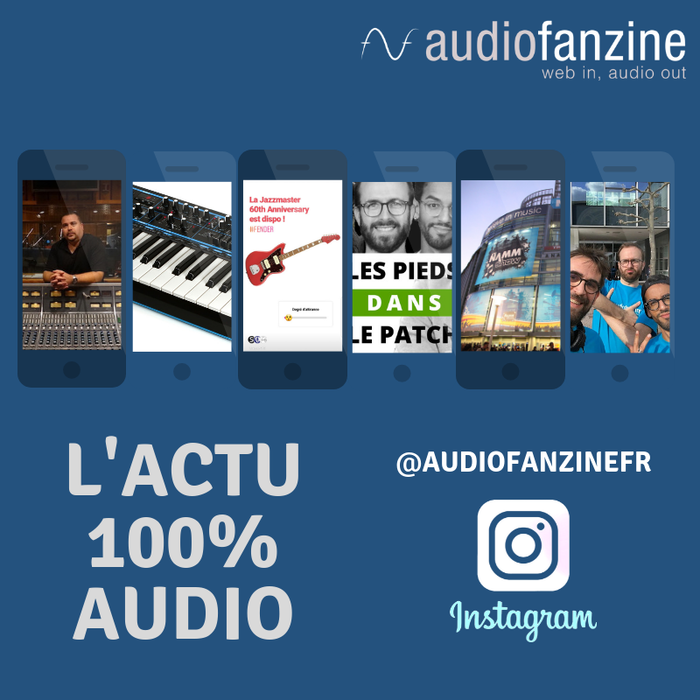 Audiofanzine : visuel news instagram4