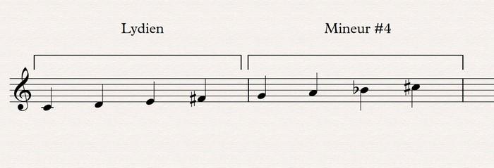 08 lydien mineur #4 demi-ton