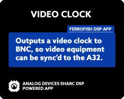 A32 Video Clock