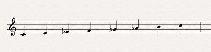 02 locrien bécarre 9 harmonique