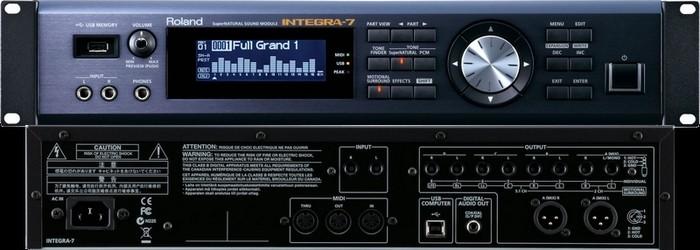 Roland Integra-7 (Front+Back) LR