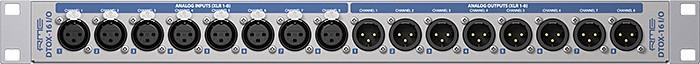 RME Audio DTOX 16 : dtox_16_io