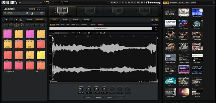 Steinberg Groove Agent 5 : ga5_library_selection