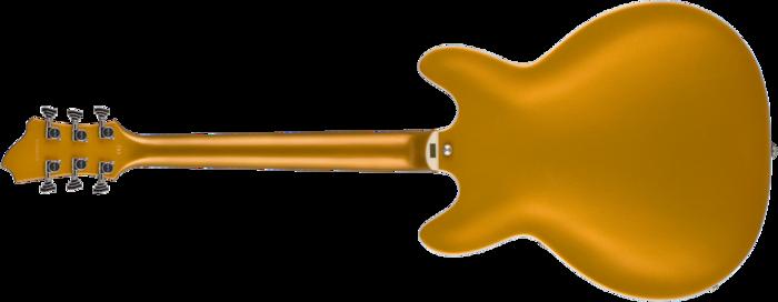 Hagstrom Justin York Viking Gold Top : Viking Gold Top Rear