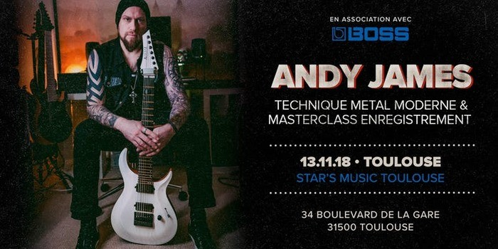 Masterclass Andy James