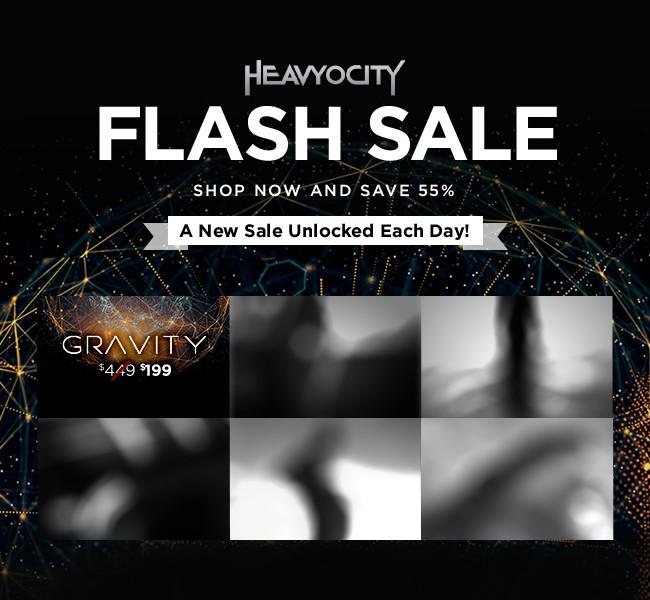 Heavyocity Flash Sale Gravity