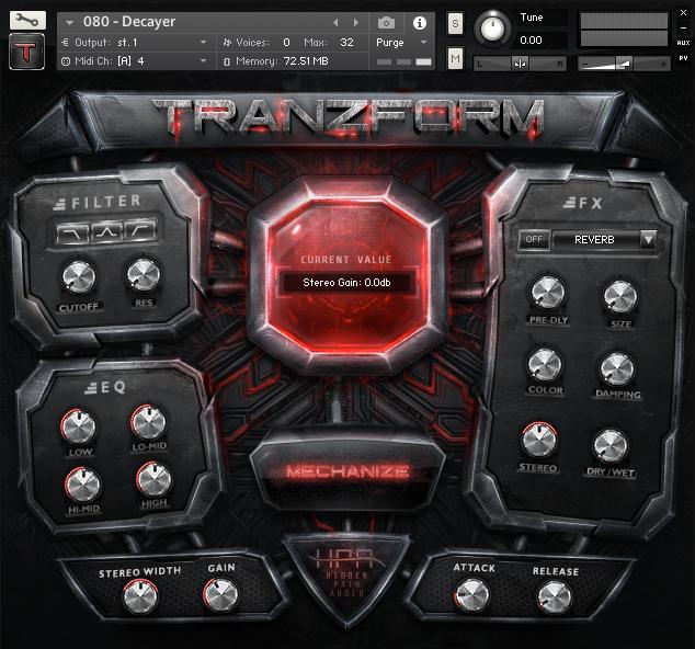 Tranzform GUI