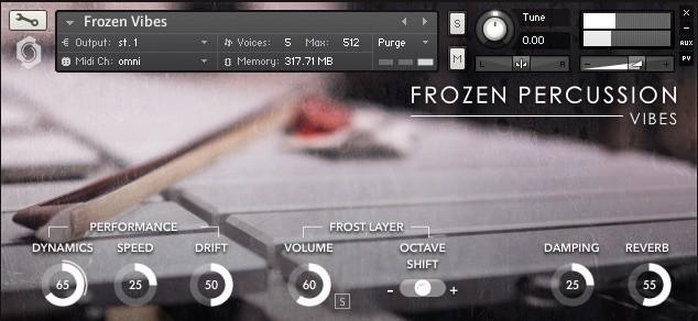 frozen-vibes-interface-screenshot