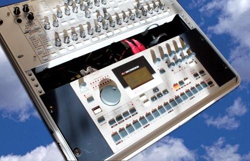 Machine Drum dans les nuages