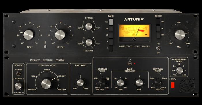 Arturia 3 Compressors You'll Actually Use : Screenshot-Fet-76