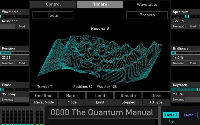 Waldorf Quantum : Quantum_3display 002