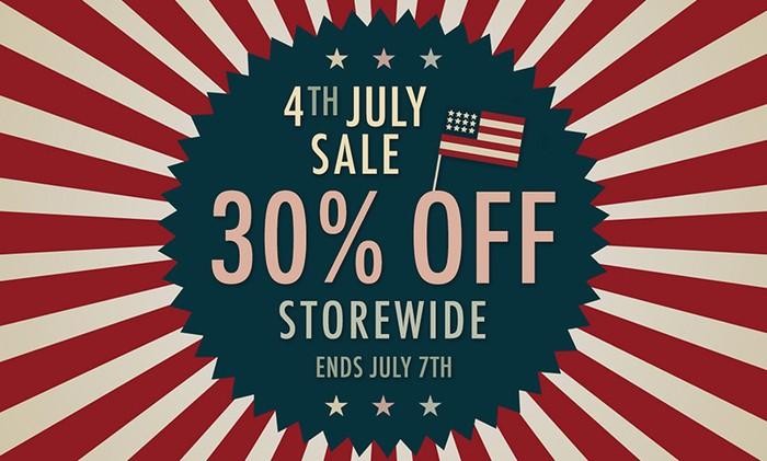 STL 4th July Sale