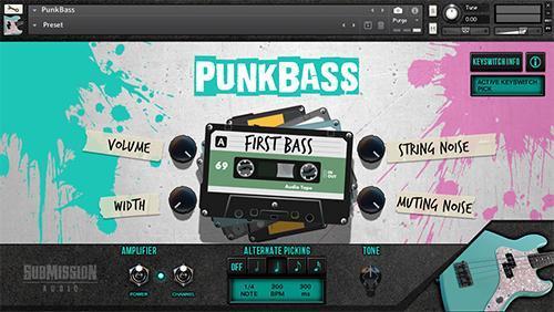 PunkBass GUI