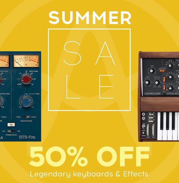 Arturia Summer Sale 19
