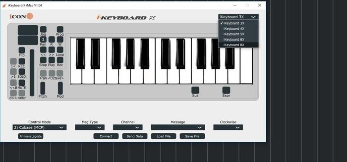 00 je choisis mon model de clavier que je veux modifier