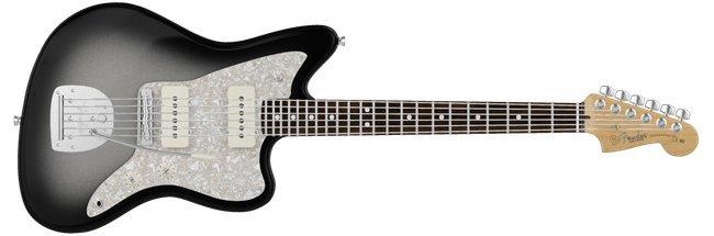 Fender-Silverburst-Jazzmaster