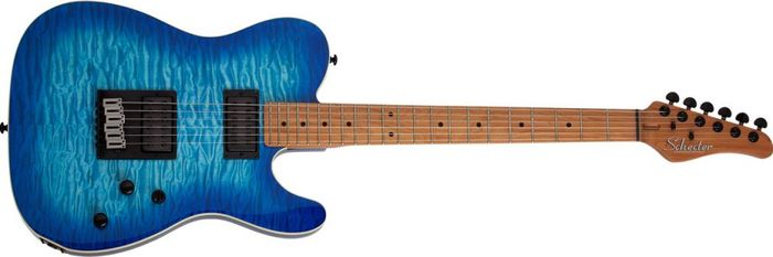 Schecter-PT-Pro-Series-Transparent-Blue-Burst-