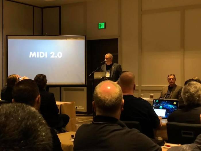 MIDI 2 Audio Modeling NAMM 2020