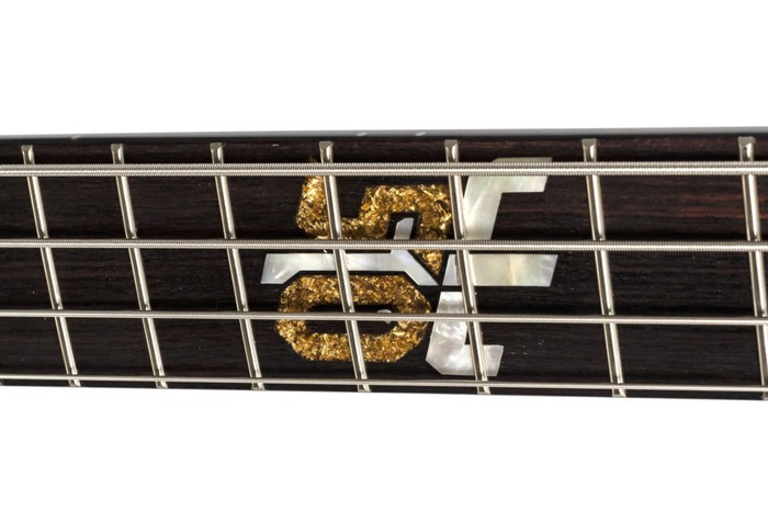 Spector Euro 4 Ian Hill Judas Priest 50th Anniversary Signature : inlayspectoreuro4
