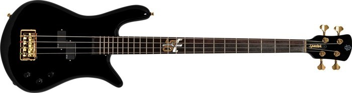 Spector Euro 4 Ian Hill Judas Priest 50th Anniversary Signature : Spector-Ian-Hill-Signature-2020-Bass-Black