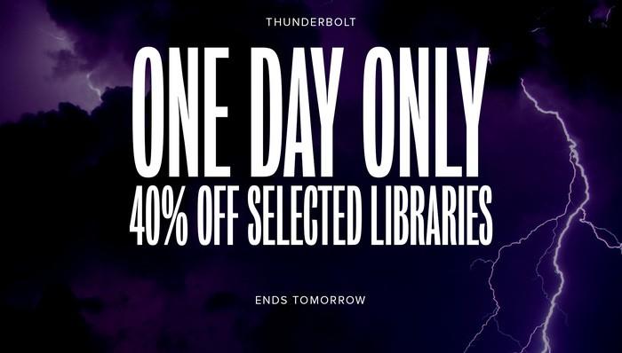 Thunderbolt sale