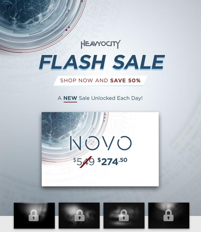Heavyocity Flash Sale Novo