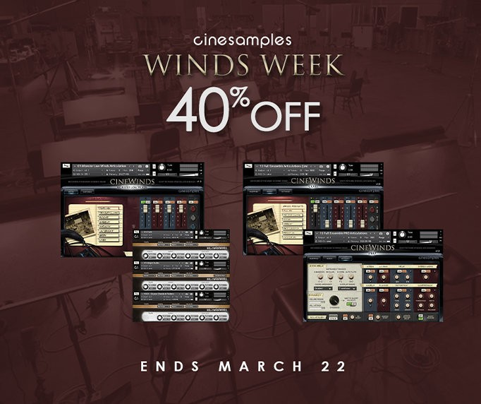 Cinewinds sale