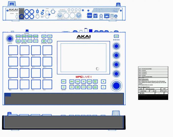 Rumor MPC Live II sketch