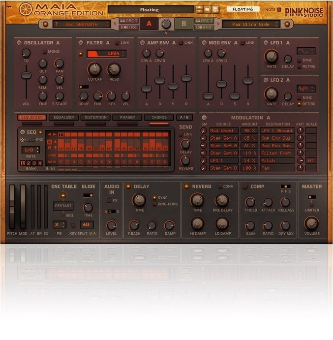 PinkNoise Studio Maia Orange Edition : PinkNoise Studio Maia Orange Edition (19898)