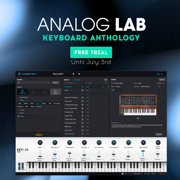 Analog Lab Lockdown
