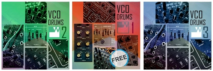 WS - VCO Drums vol1-2-3 WEB