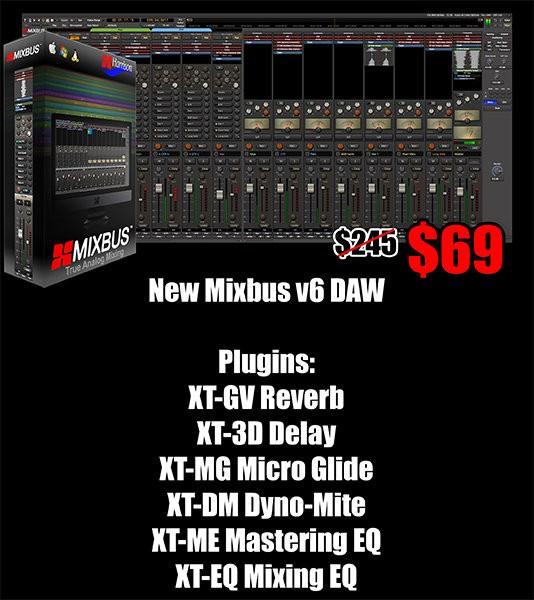 Mixbus 6 6 plug-ins sale
