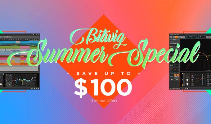 Bitwig Summer Sale 20