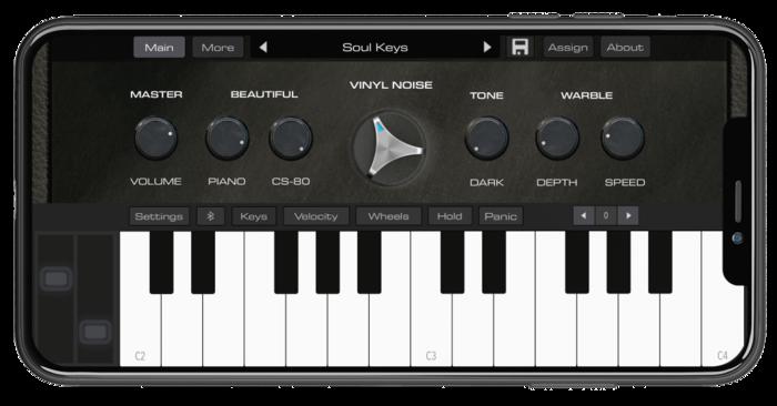 AudioKit Pro Retro Piano : RetroPiano_iPhone11_Max-1