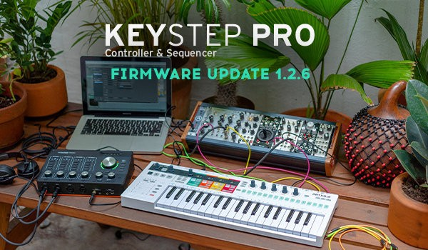 KeyStep Pro Firmware Update