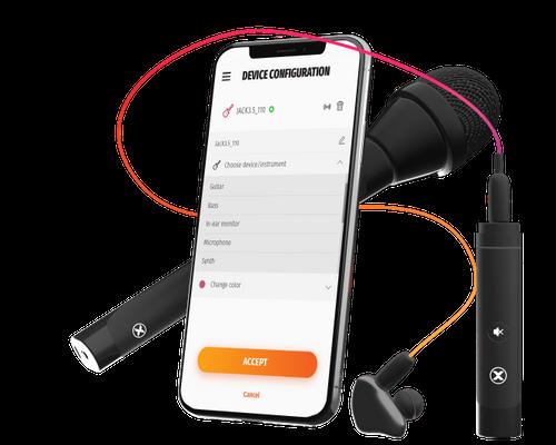 T One App Headphones