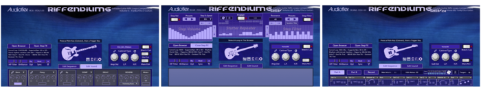Audiofier Riffendium Volume 6: Funky/Disco Guitars : riff6-triple