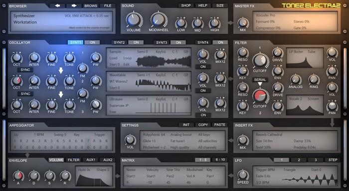 Tone2_Electra_2.8_screenshot