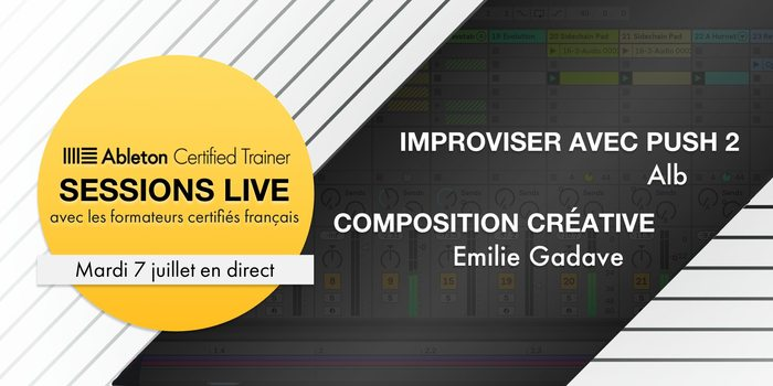 Ableton Session Live 7 Juillet