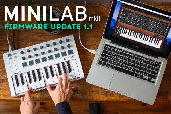 MiniLab mkII update